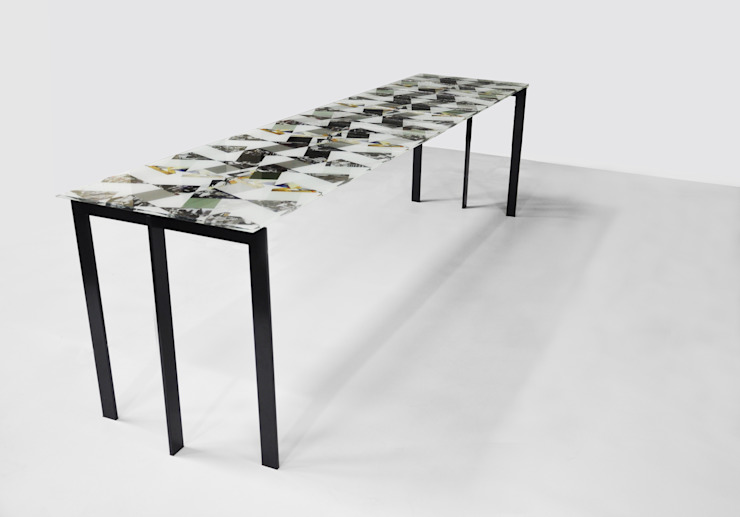 Losango Dining Table: modern  by Briggs & Cole, Modern