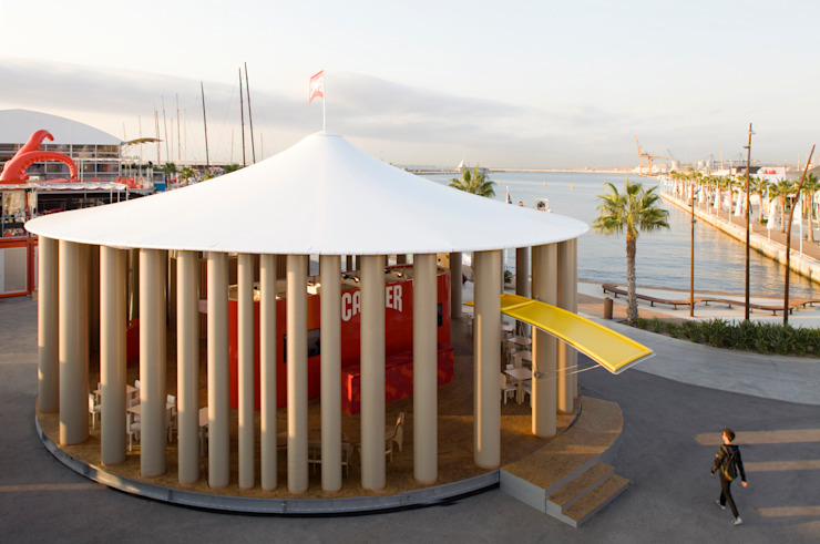 Camper Pavilion Espacios de 坂茂建築設計 (Shigeru Ban Architects)