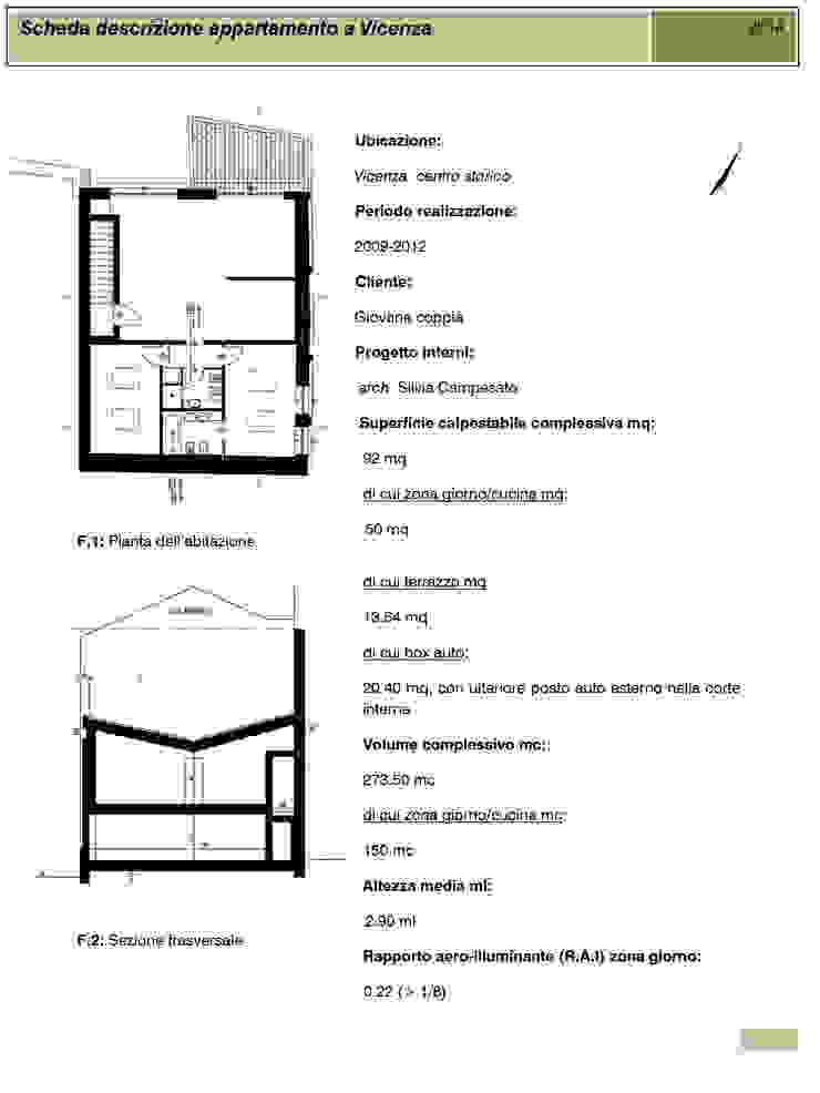 Appartamento a Vicenza di obiettivo design Moderno
