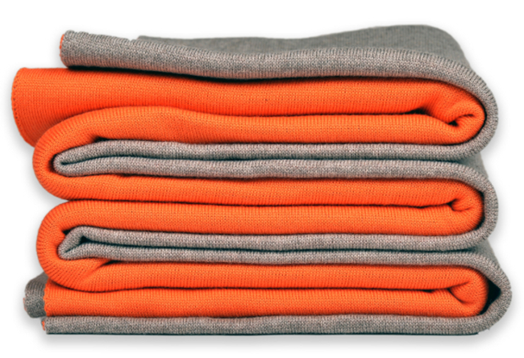 Doubleface - Wendedecke orange/beige: modern  von Lenz & Leif,Modern