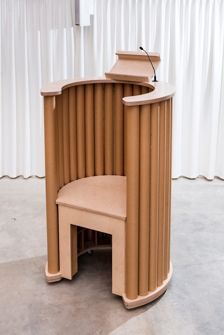 紙のカテドラル の 坂茂建築設計 (Shigeru Ban Architects)