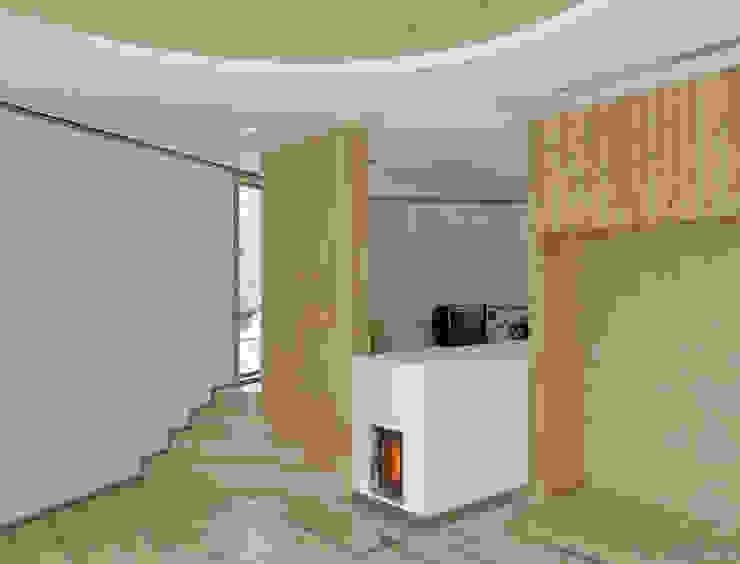 Wohnzimmer FinsterwalderArchitekten Moderne Wohnzimmer