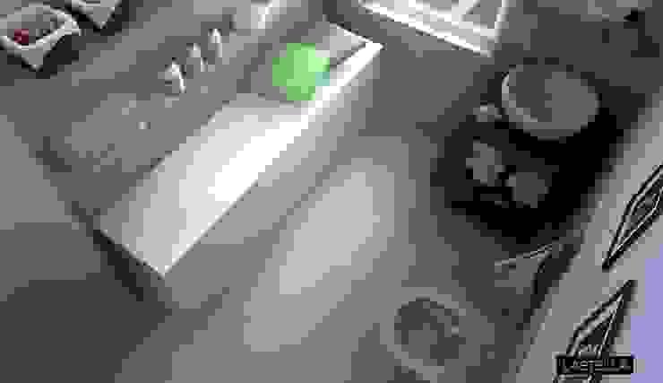 Vasca da bagno reversibilmente estendibile di M+design Moderno