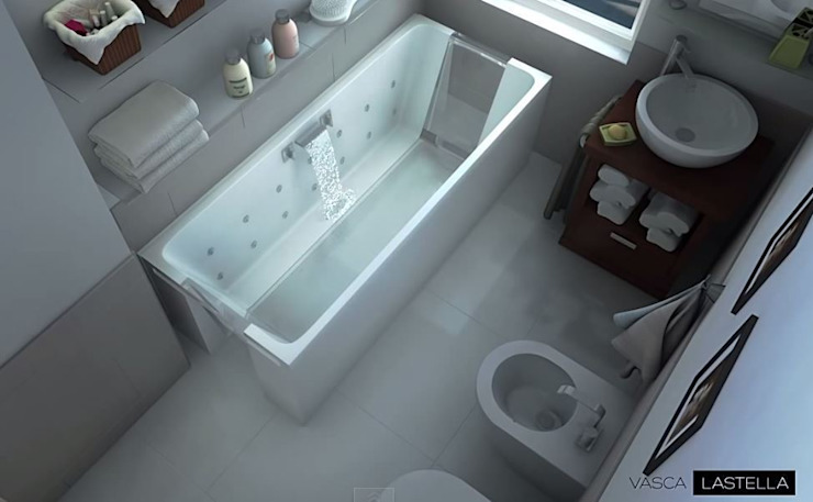 M+design BathroomBathtubs & showers