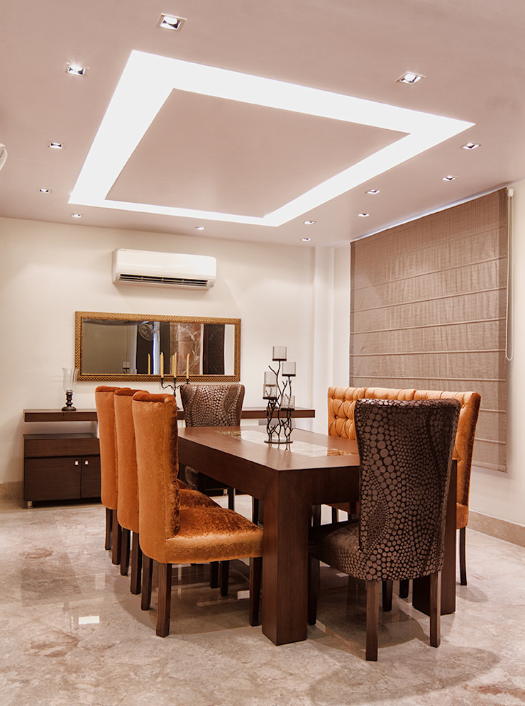 Pandhi's Residence: classic  by Hands On Design,Classic