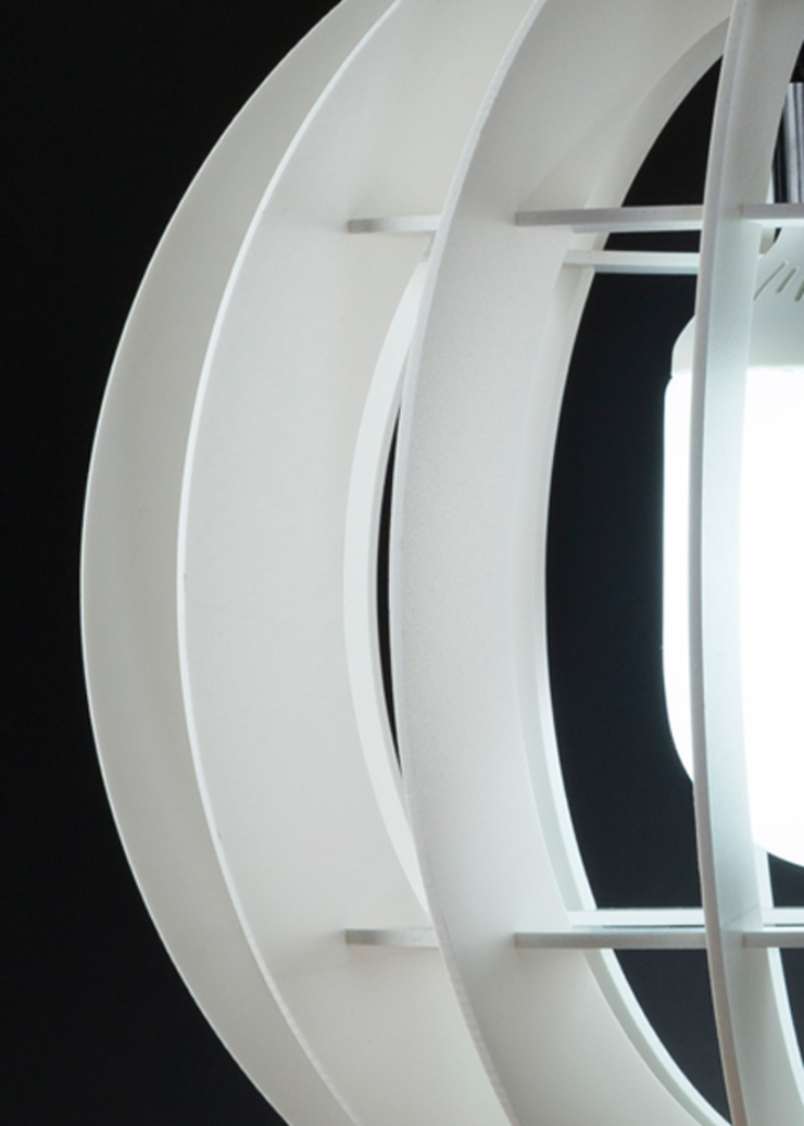 LÁMPARA MUNDO de TRAMA Moderno