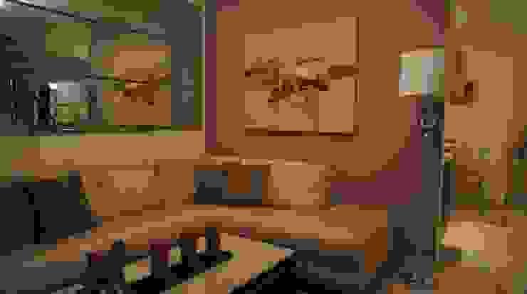 Sala. Livings de estilo moderno de Softlinedecor Moderno