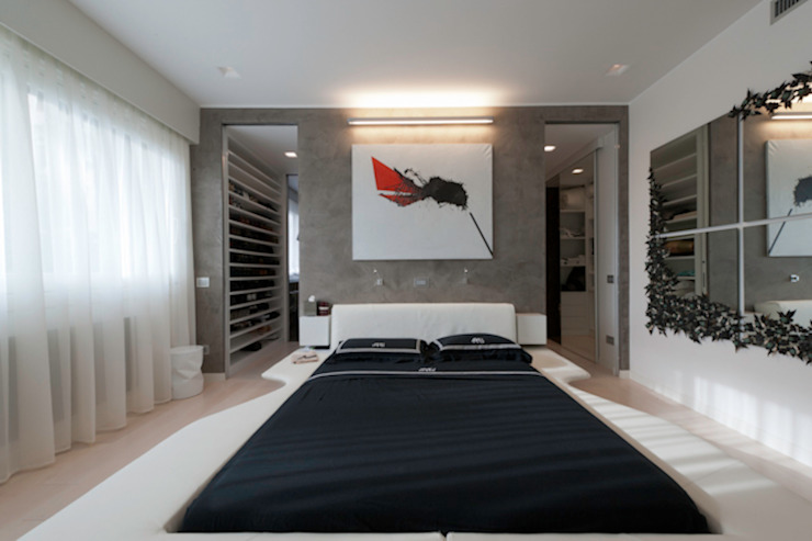 Casa Joe - camera master Camera da letto moderna di studiodonizelli Moderno