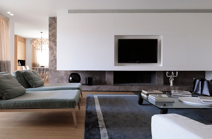 Living room by ANG42, Modern