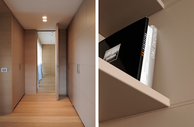 CORRIDOIO CAMERE Ingresso, Corridoio & Scale in stile moderno di ANG42 Moderno