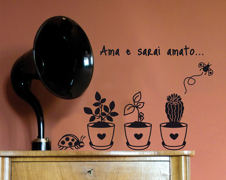 Wall stickers, adesivi per pareti di Decoramo Eclettico