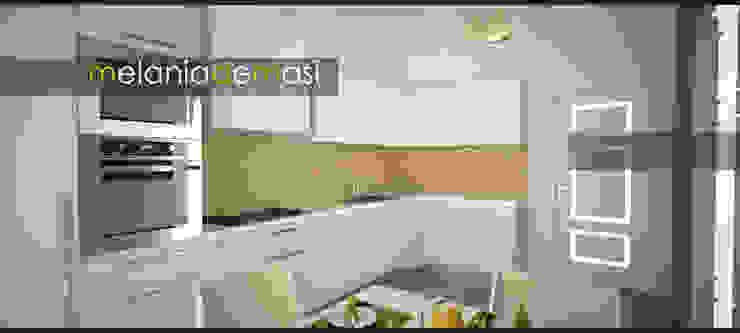 Cocinas de melania de masi architetto