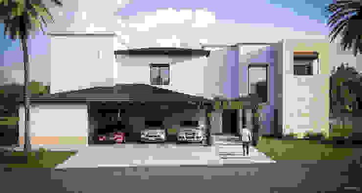 Casa en Las Misiones de Eugenio Adame Arquitectos Moderno