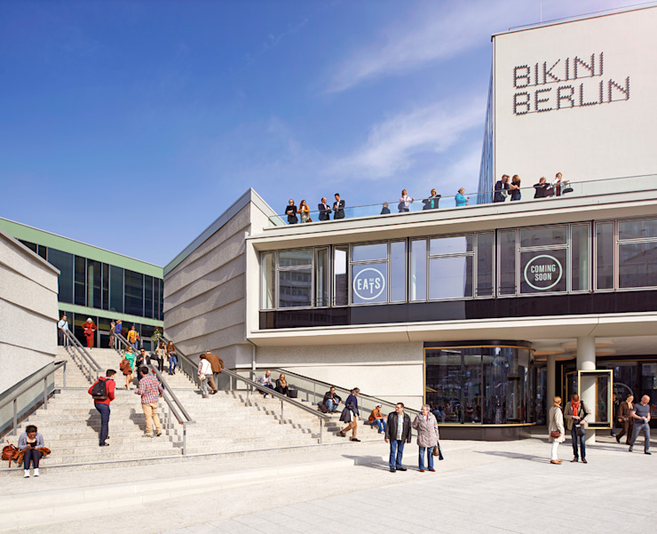 Bikini Berlin Hild und K Architekten BDA Moderne Einkaufscenter