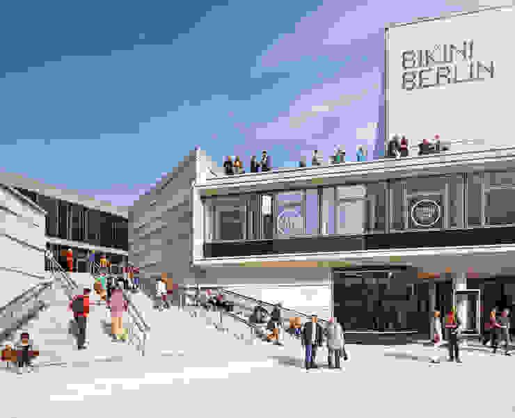 Bikini Berlin Hild und K Architekten BDA Pusat Perbelanjaan Modern