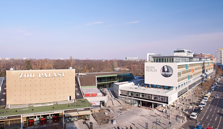 Bikini Berlin Moderne Einkaufscenter von Hild und K Architekten BDA Modern