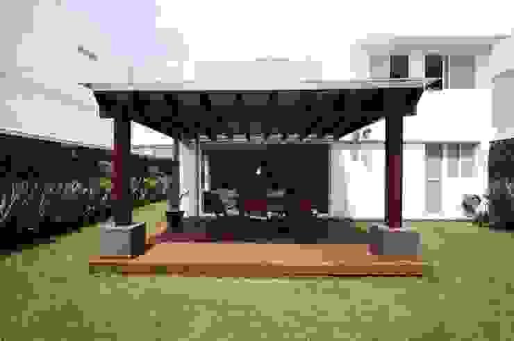 TERRAZA AJUSCO de Capitel Arquitectura Moderno