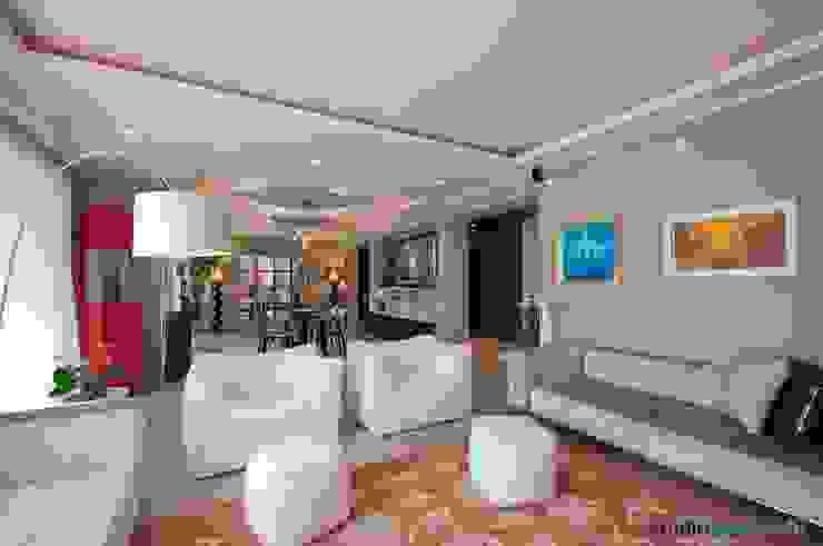 Casa Carilla - soggiorno Soggiorno moderno di studiodonizelli Moderno