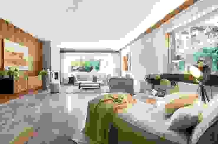 Wohnzimmer Wohnzimmer im Landhausstil von Luna Homestaging Landhaus