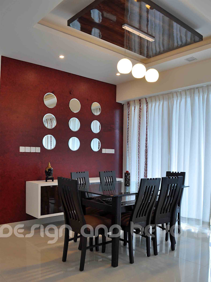Dining Area Modern houses by Design and beyond Modern