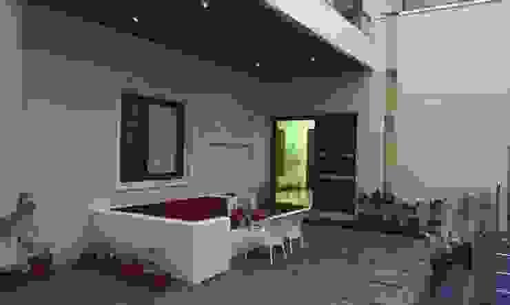 Residence M-35 Modern balcony, veranda & terrace by ArchiDes Modern