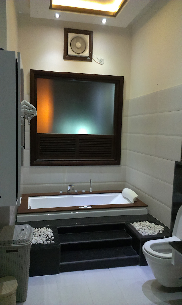 Residence M-35 Modern bathroom by ArchiDes Modern