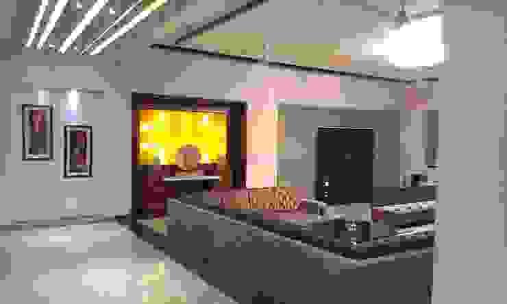 Residence M-35 Modern living room by ArchiDes Modern