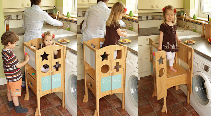 Play Kitchen Turret: modern  by Woodquail, Modern
