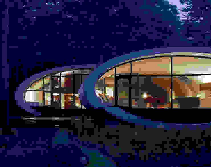 SHELL Moderne Häuser von ARTechnic architects / アールテクニック Modern