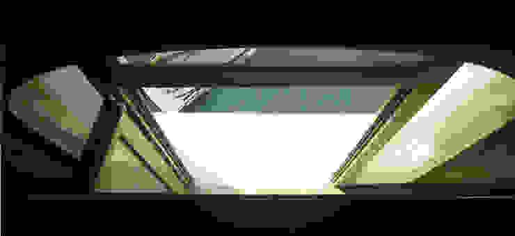 Piano primo - vista sulla porta d'acqua Case moderne di nicola feriotti studio Moderno