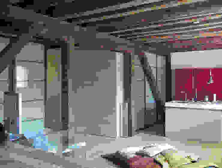 interno Piano primo Case moderne di nicola feriotti studio Moderno