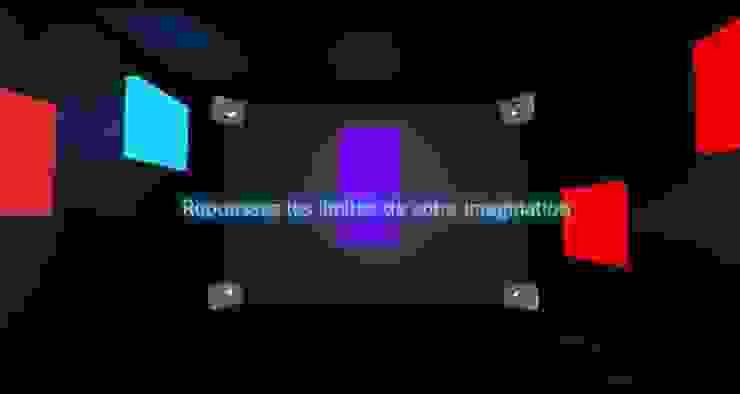 Imagination Room Centre d'expositions originaux par Decibel Consulting Éclectique