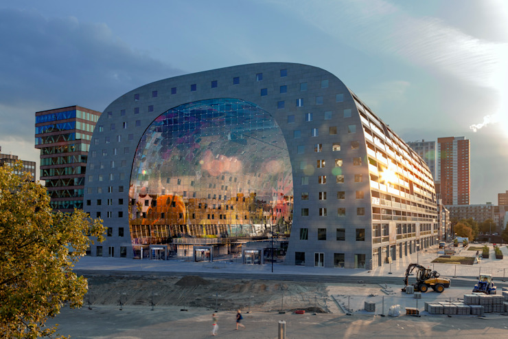 Markthal Rotterdam Rooms by MVRDV