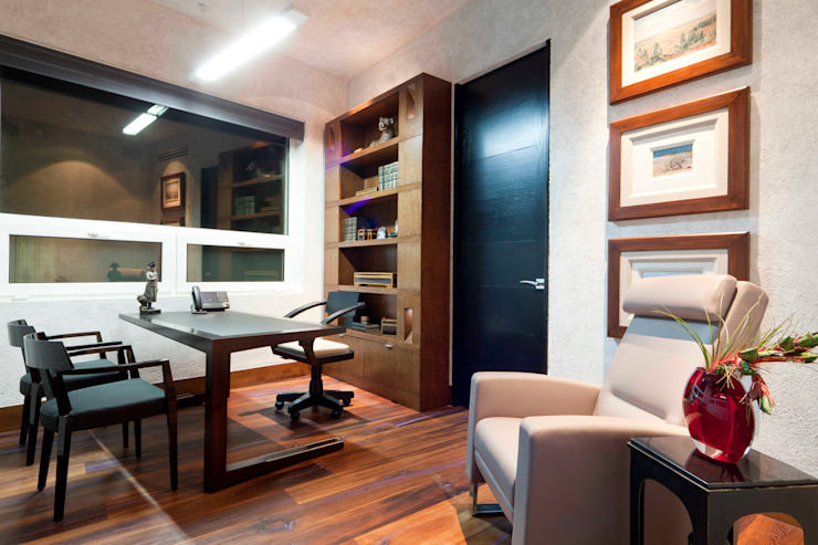 Modern Study Room and Home Office by ARQUIPLAN Modern