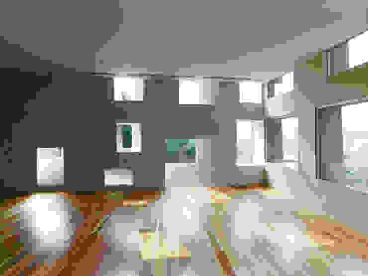 栄福寺演仏堂 の Zai SHIRAKAWA Architects & Associates / 白川在建築設計事務所 モダン