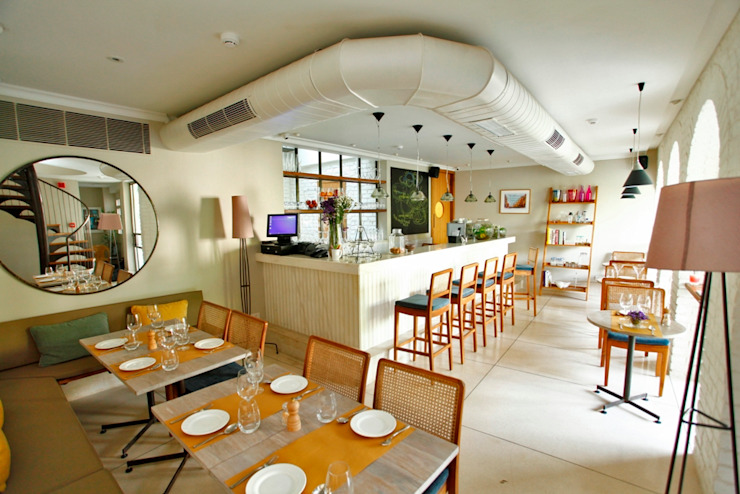 Coast Cafe Eclectic style gastronomy by Studio Lotus Eclectic