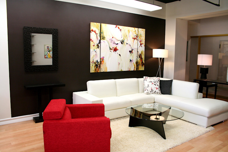 Contemporary Living Room Living room by homify