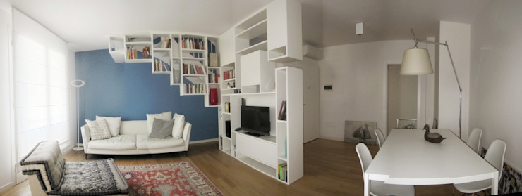Casa V+G Soggiorno moderno di di-ma Moderno
