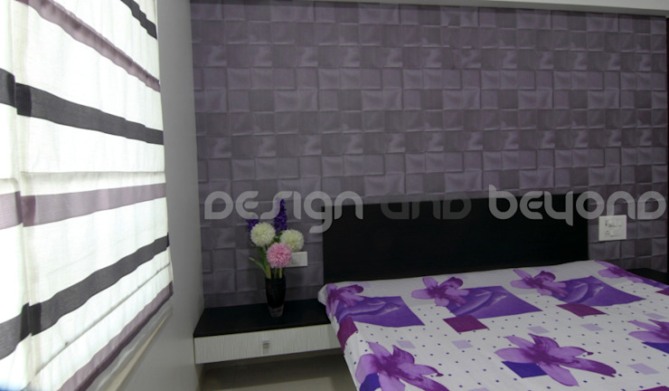 bedroom Modern houses by Design and beyond Modern
