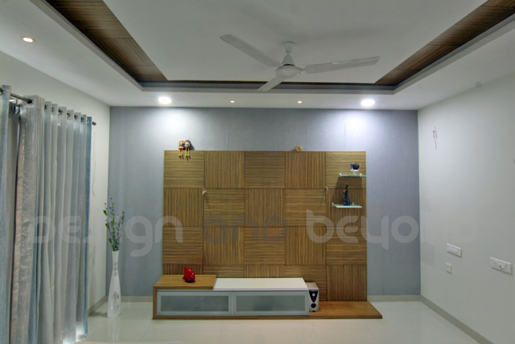 ceiling design Modern houses by Design and beyond Modern