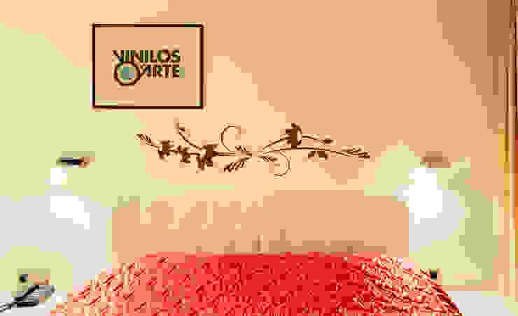 Chambre moderne par Vinilos con Arte Moderne