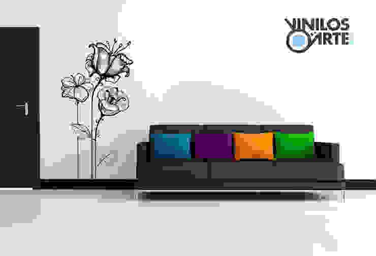 - Vinilos con Arte Salones de estilo moderno