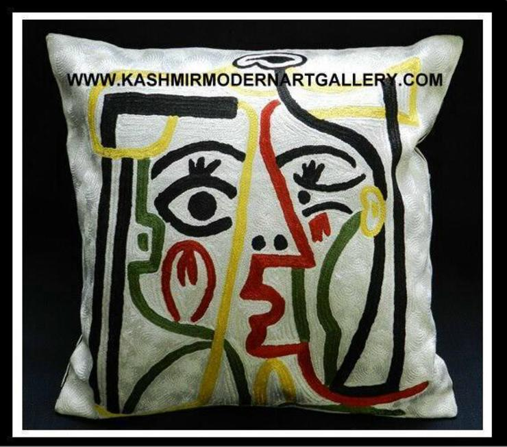 picasso line drawing cushioncover: modern  by kashmir modernart gallery,Modern