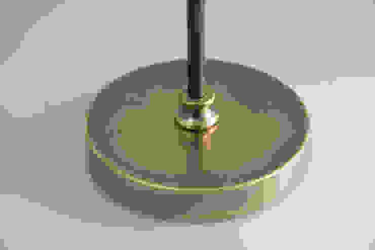 Lampadaire en laiton vieilli orientable par pneyg13810 Classique