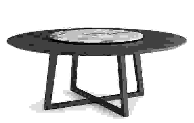 Collection table Concorde pour Poliform par agence Emmanuel Gallina