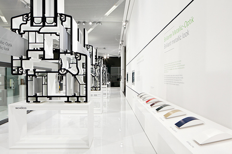 Exhibition centres by D'art Design Gruppe GmbH