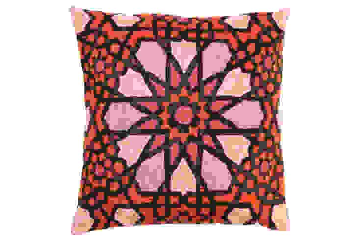 crewel pillows: modern  by kashmir modernart gallery,Modern