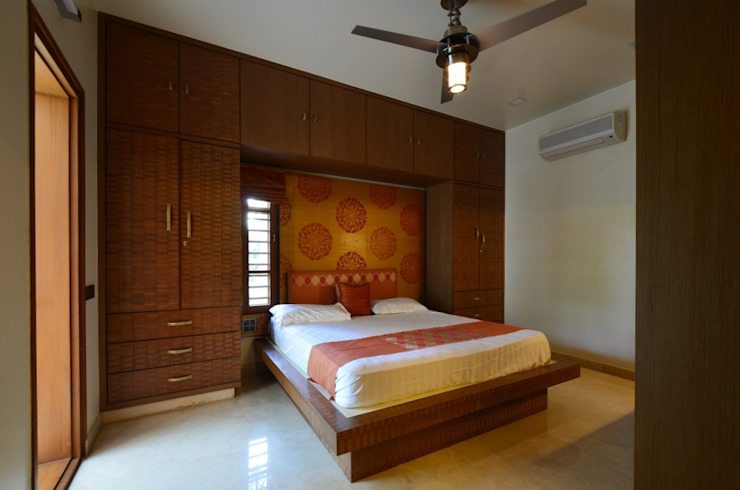 Sridhar Sreerama Residence Rooms by Synectics partners