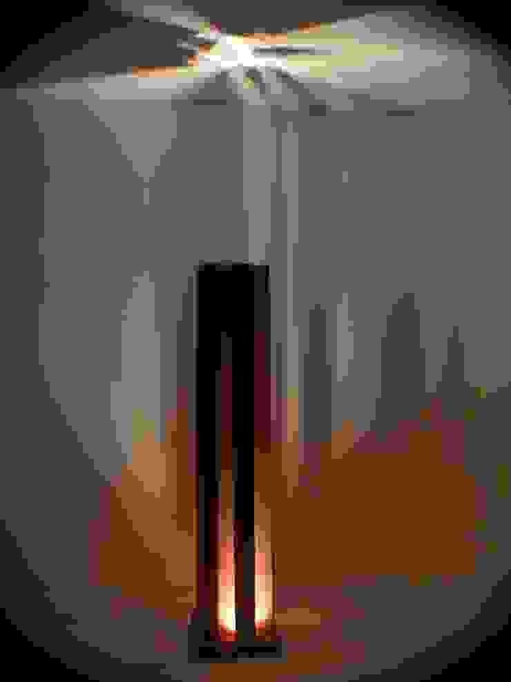Cor-ten lamp di Design art Minimalista
