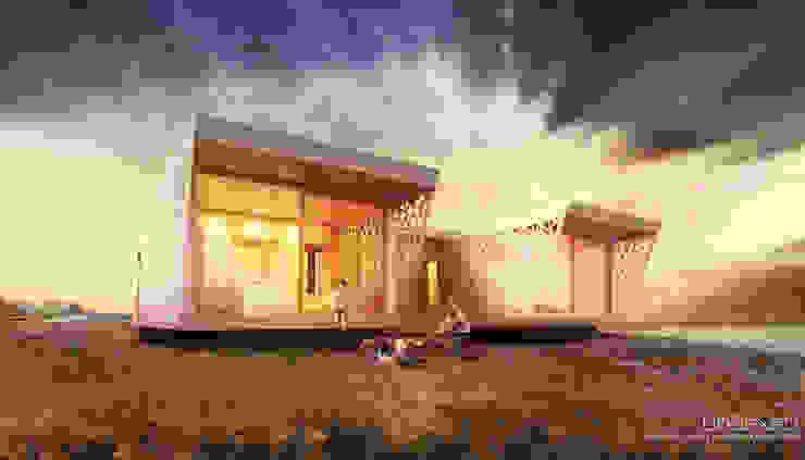 L'esterno Case moderne di Barberio Colella ARC Moderno